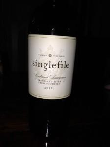Singlefile Cabernet Sauvignon 2013